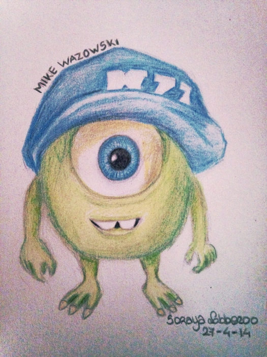 Monsters Inc. por SorayaLobbezoo